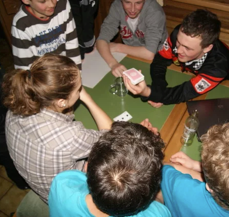 Mini Trainingslager am Brüggele 2012